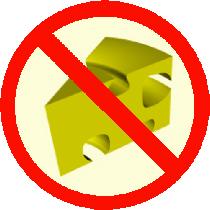 No cheese